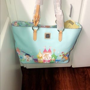 NWT 2019 Disney Its a Small World Tote